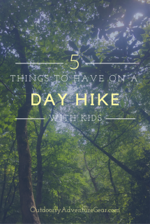 5 things to have on a day hike